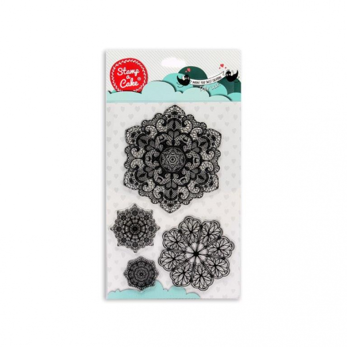 DOILY LACE Stamp - Stamp a Cake - DISCONTINUED