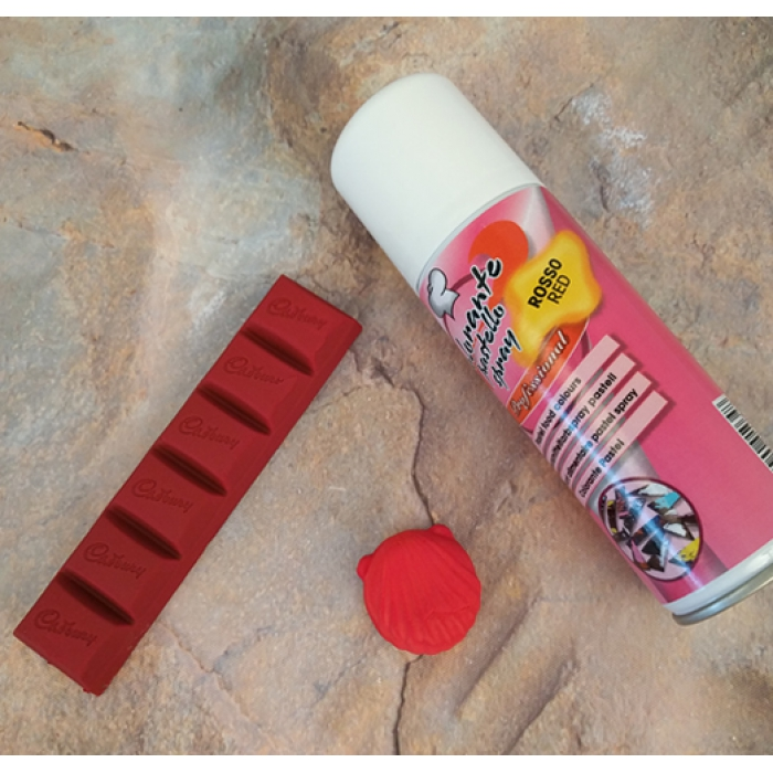 Edible Red Colouring Spray -125ml by Solchim of Italy