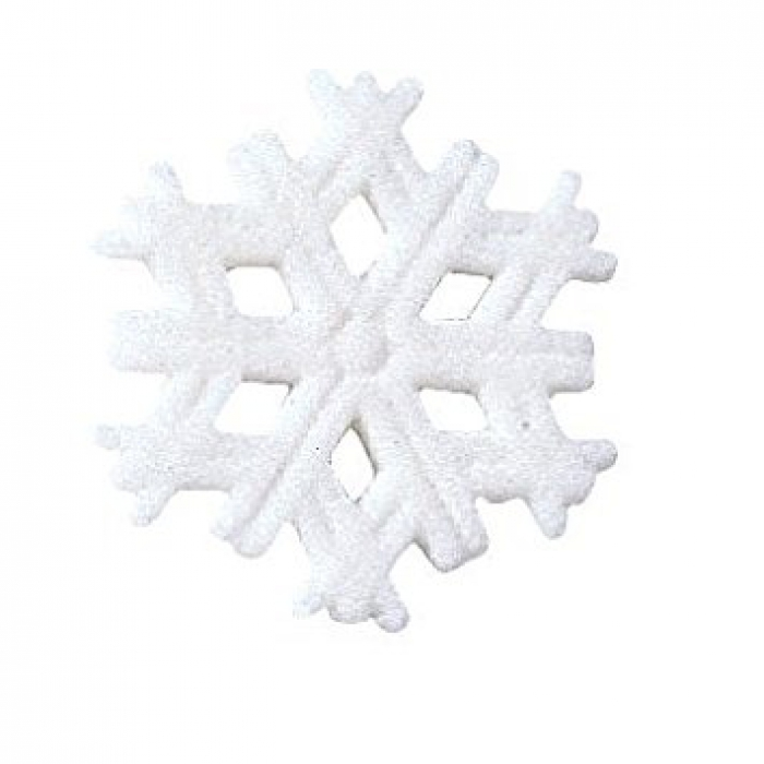 Edible Sugar Decorations Snowflakes - Packs Of 12 - PICK UP ONLY
