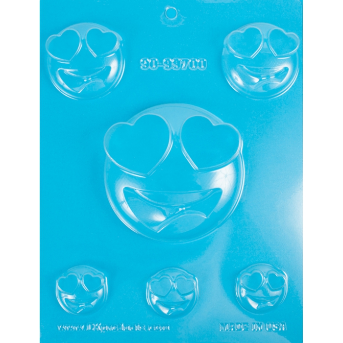 Emoji Chocolate  -heart eyes chocolate mould