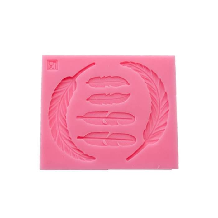 Feather Selection Silicone Mould