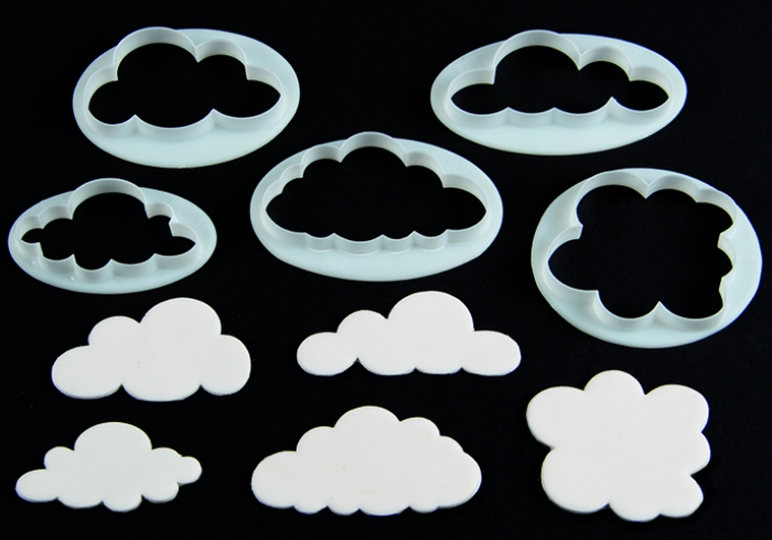 FMM Clouds Cutter Set 5