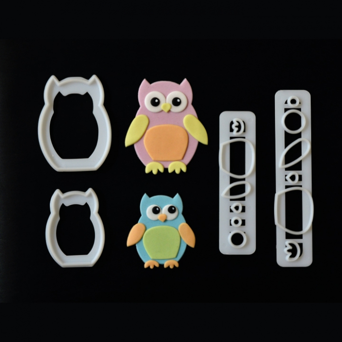 FMM Mummy & Baby Owl Cutter Set - DISCONTINUED