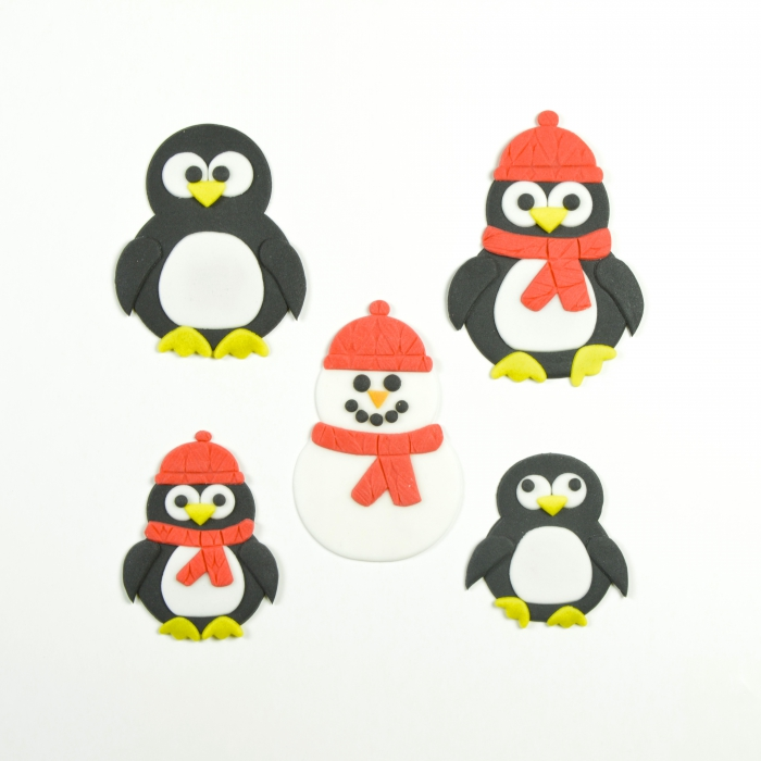 FMM Mummy & Baby Penguin Cutter Set