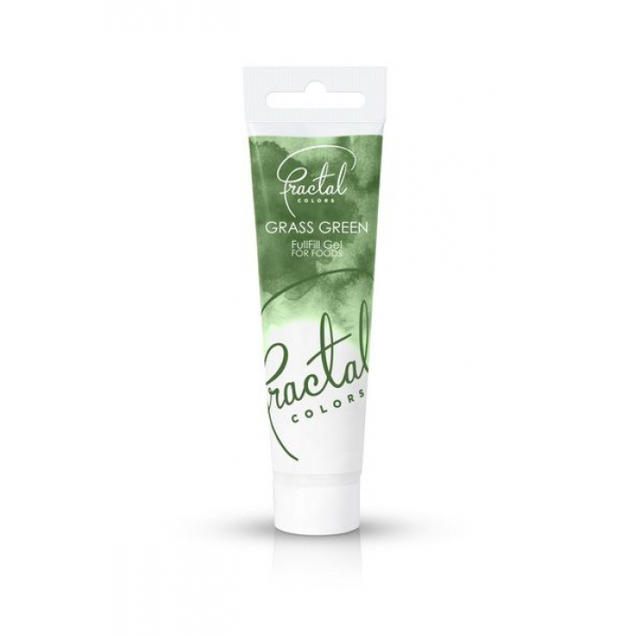 Fractal Food Colour Gel Grass Green - 30g