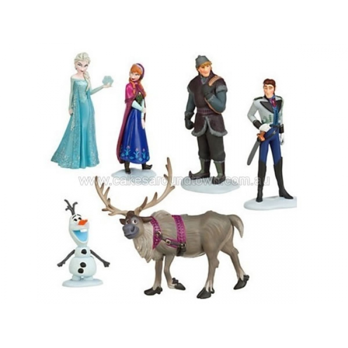 Frozen Movie Characters Cake Topper (6pc) [ALI-FROZEN]