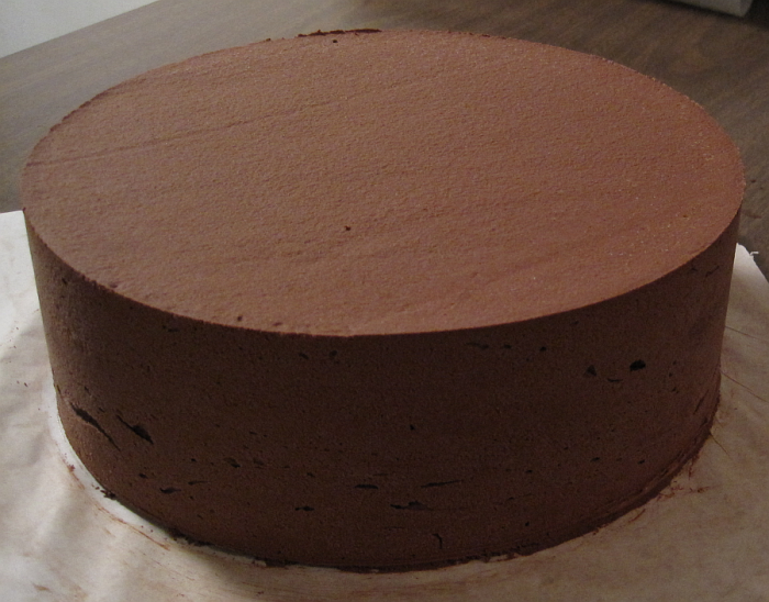 Round Ganache & Buttercream Circle 10