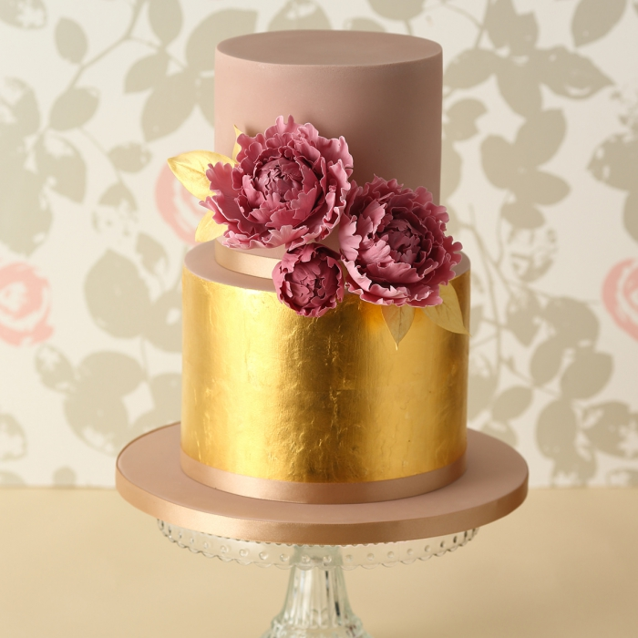 wedding cake gold foil gold leaf transfer book of 25 sheets 23kt 22777