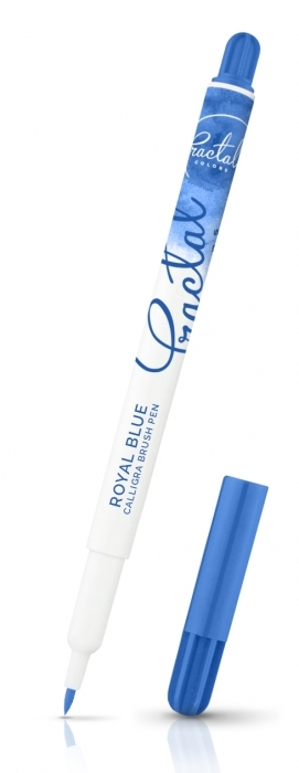 Fractal Calligra Food Brush Pen - Royal Blue