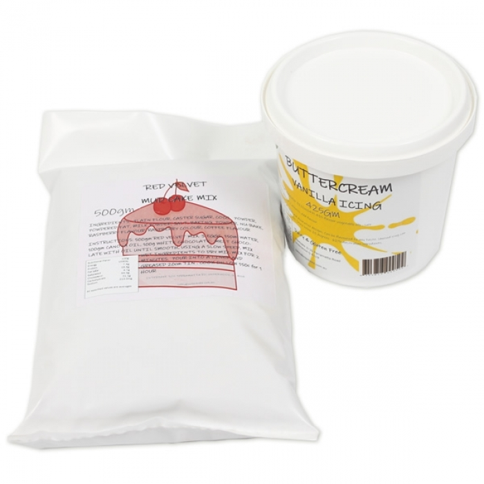 Promo - Red Velvet Cake Mix and a Buttercream