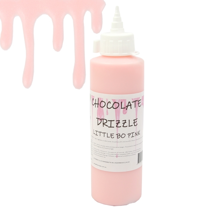 Pale Pink Chocolate Drizzle 250g