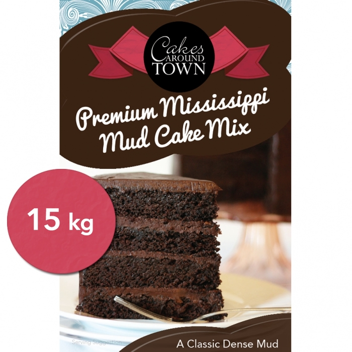 Premium Mississippi Mud Cake Mix by Bakels 15kg - SPECIAL ORDER IN