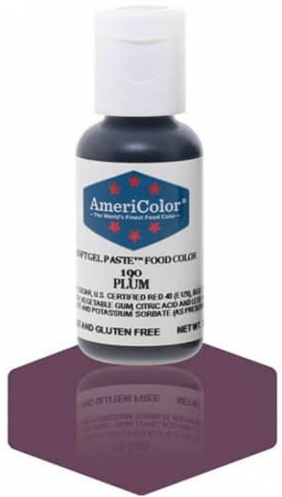 Americolor SMALL Soft Gel Paste .75oz (22.5ml) - PLUM