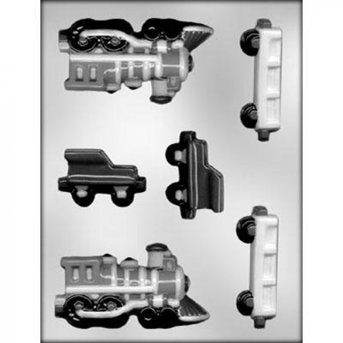 Train and Carriage Chocolate  Mould