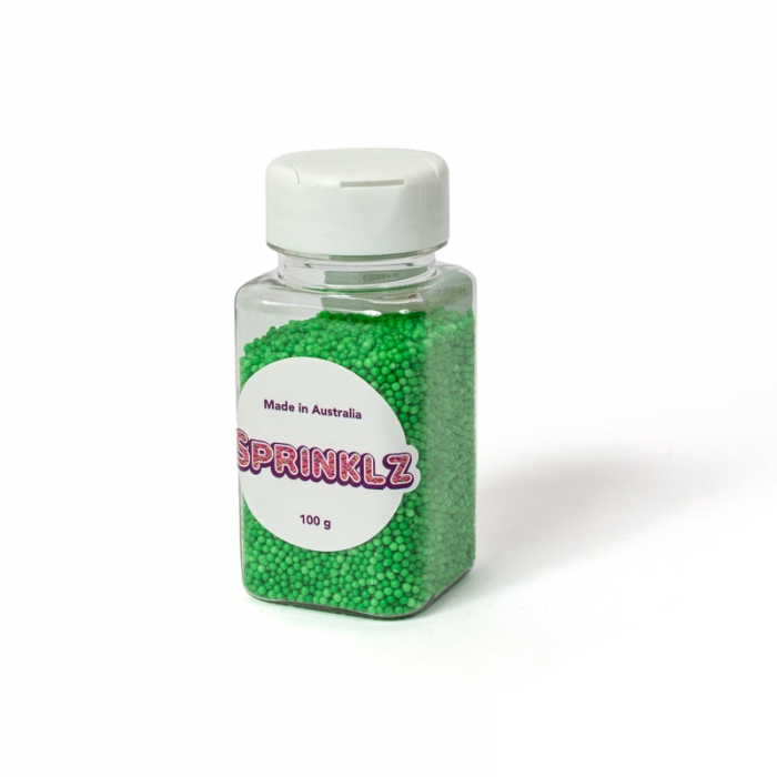 Sprinklz - Green Non Pareils  - 100g