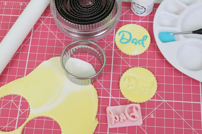 Magic Press - Dad Embossing Stamp