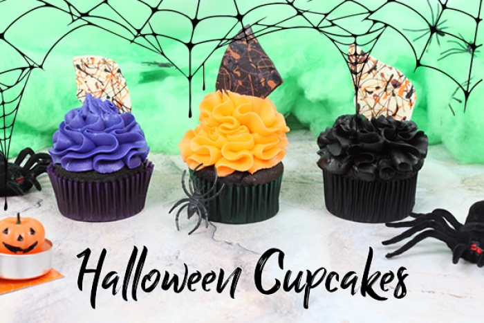 Inspiration -Halloween Cupcakes