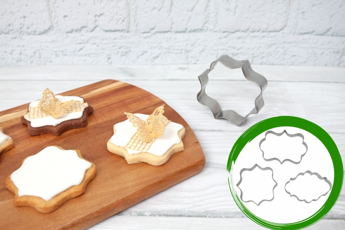 Cookie Cutter Plaque Set - SARAH, ARIEL & CARLA