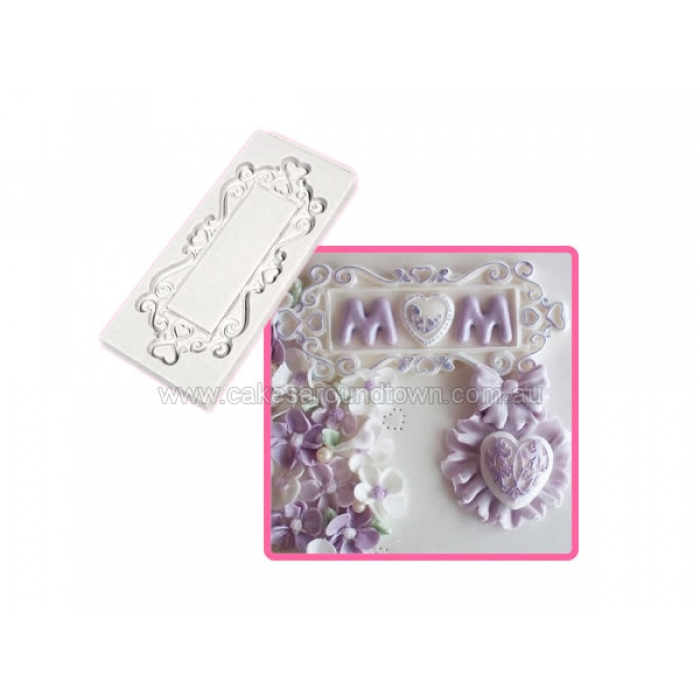 Katy Sue Decorative Plaque - Rectangle Hearts