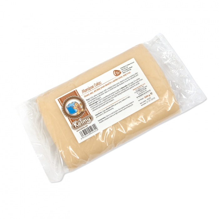 Kelmy Soft White Traditional Marzipan  - 500g - BEST BEFORE