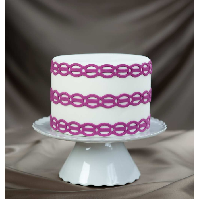 Lovely Links Silicone Onlay Ribbon by Marvelous Molds