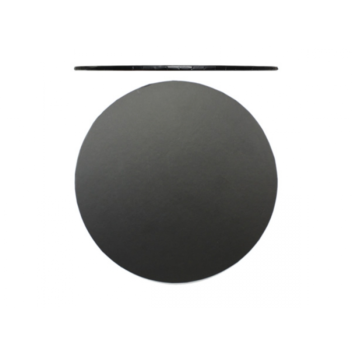 LOYAL BLACK Cake Board - 8 inch ROUND