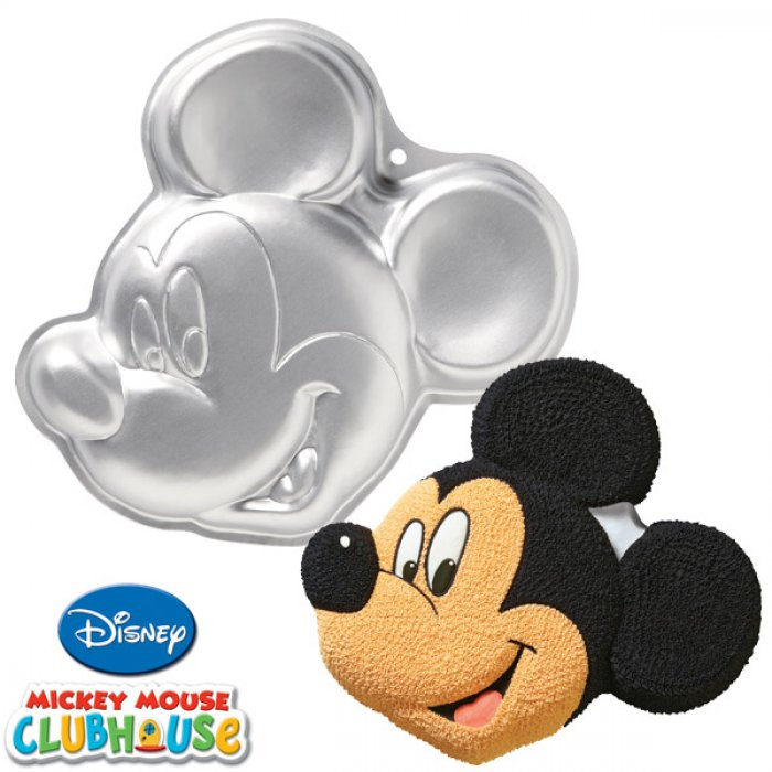 Mickey Mouse Face Cake Pan Instructions