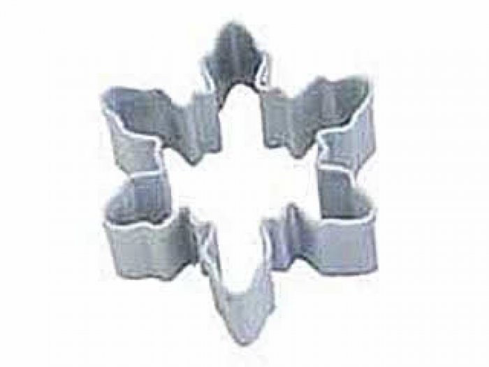 COOKIE CUTTER - Mini Snowflake Resin WHITE 4.5cm
