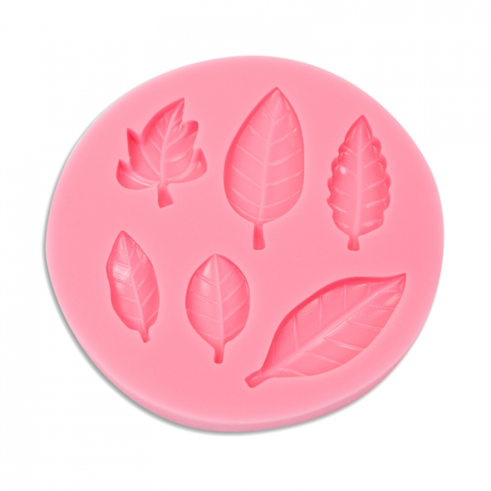 Mixed Leaves Silicone Mould