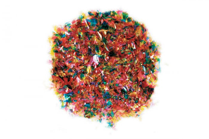 EDIBLE GLITTER FLAKES - Multi Colour - 28g Bottle