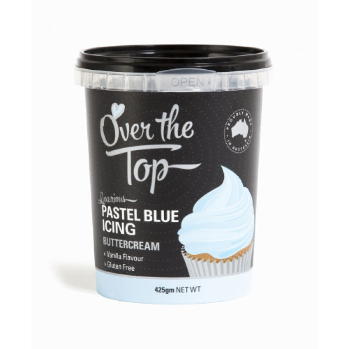 Over The Top Buttercream 425g - PASTEL BLUE