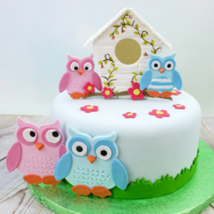 Owl Set Patchwork Cutters