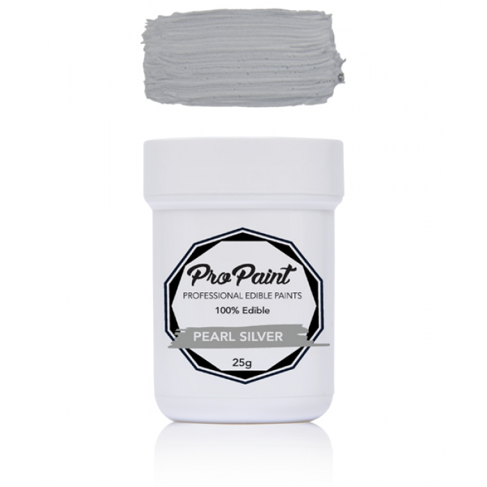 Pearl Silver Pro Paint -25g - BEST BEFORE