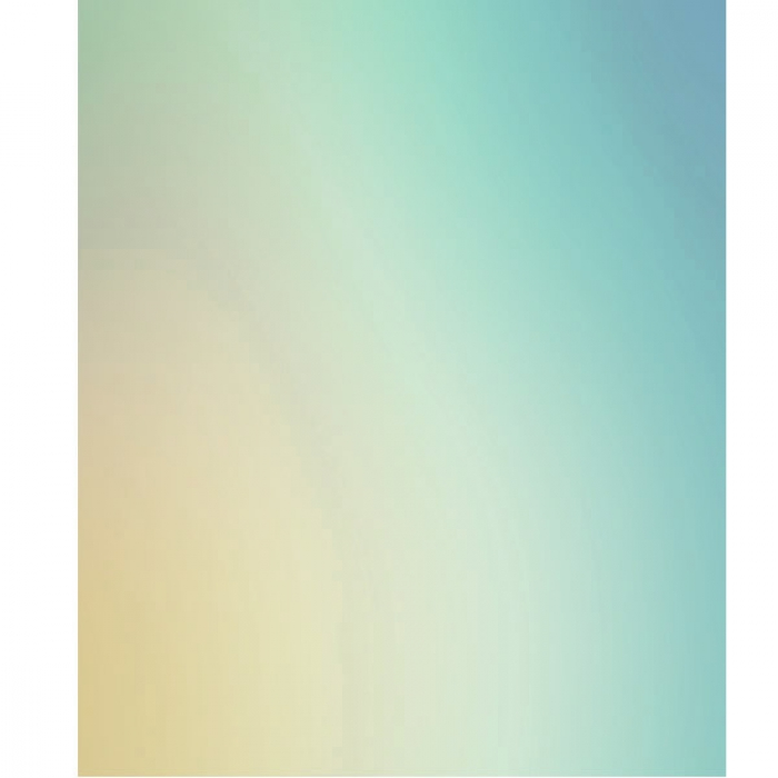 Photo Backdrop Blue Yellow Ombre - 75cm x 90cm