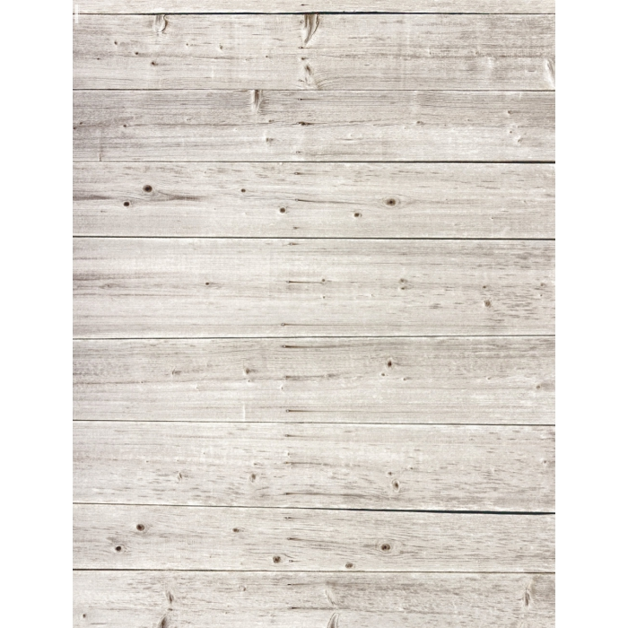 Photo Backdrop Worn Grey Wood with Knots