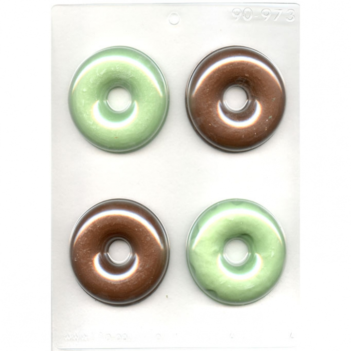 Plain Donut chocolate mould