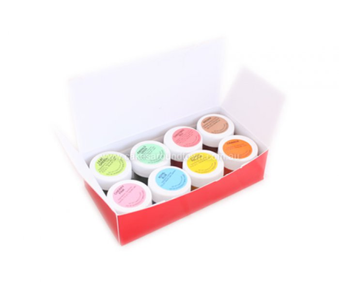 CK - 8 Food Colour Dust Kit