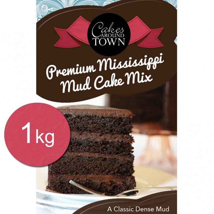 Premium Mississippi Mud Cake Mix by Bakels 1Kg - BEST BEFORE