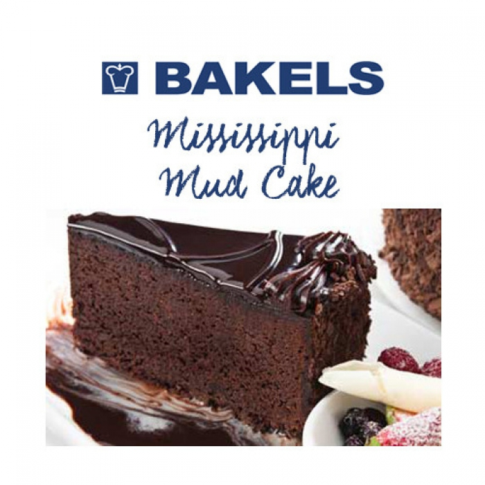 Premium Mississippi Mud Cake Mix by Bakels 4kg