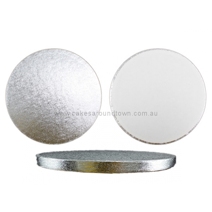 PREMIUM Silver Drum Boards - 7 inch Round
