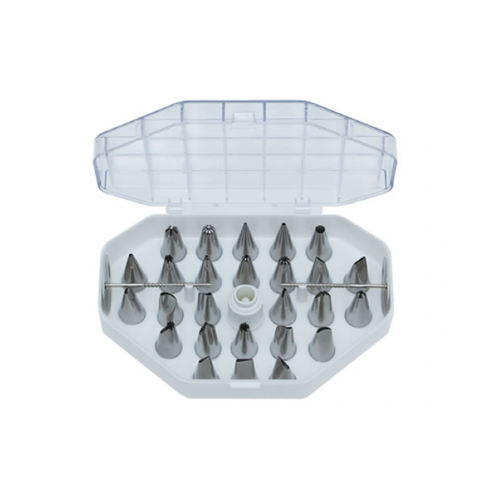 Professional Icing Tip Set (29 pieces)