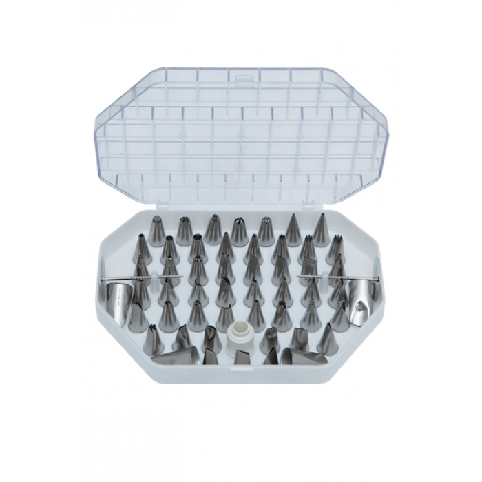 Professional Icing Tip Set (55 pieces)
