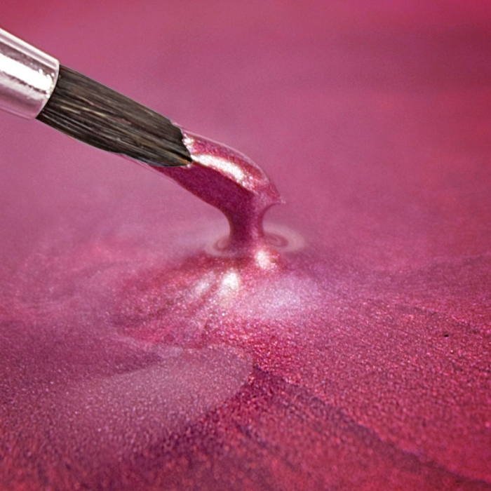 Rainbowdust Edible Metallic Paint - PEARLESCENT CERISE