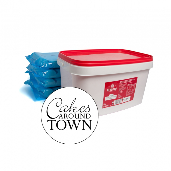 Renshaw EXTRA WHITE Fondant Icing 10kg - PICK UP IN STORE ONLY