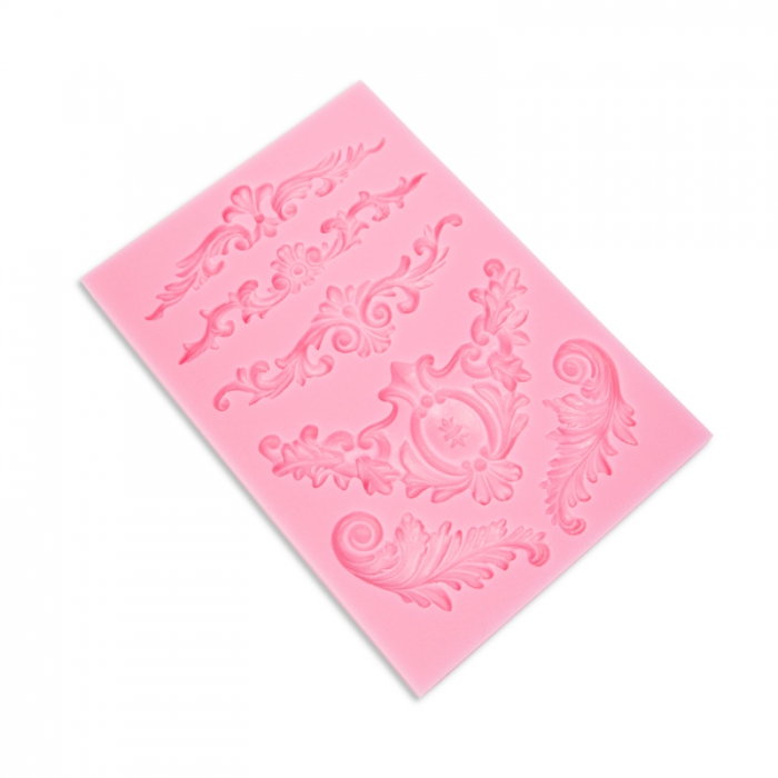 Scroll Mould 6 designs