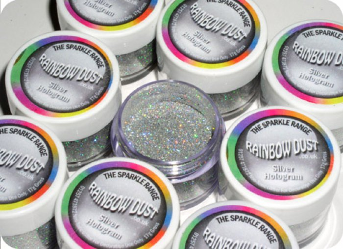 Silver Hologram Glitter - dust and glitters