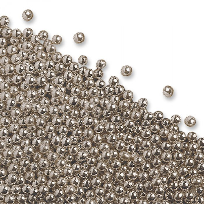 Silver Cachous Pearls 40mm 40g Gorgeous Silver Balls Decor