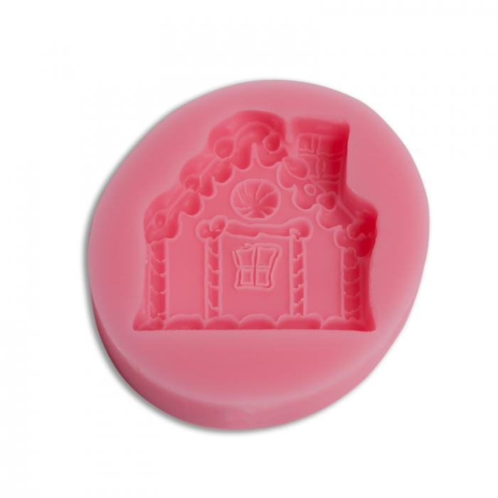Small Gingerbread House Silicone Mould