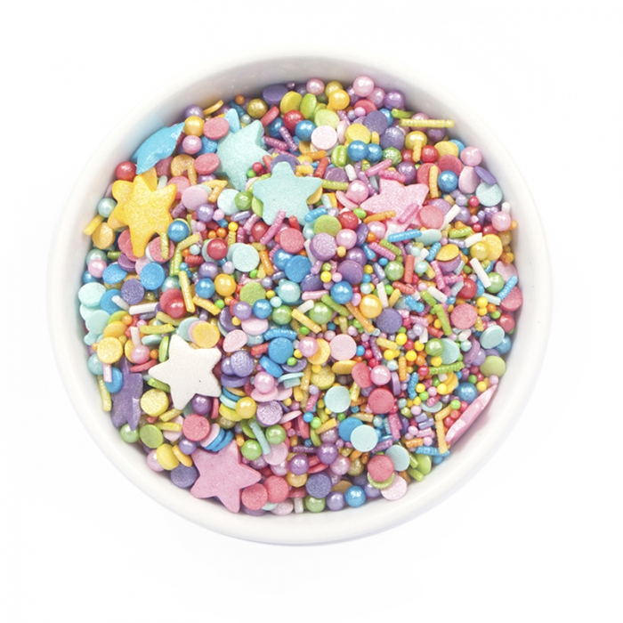 Sprinkletti - Rainbow 100g net