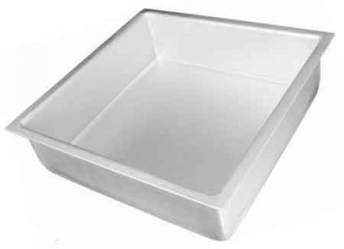 Square Cake Tin / Pan 14 x 3 deep